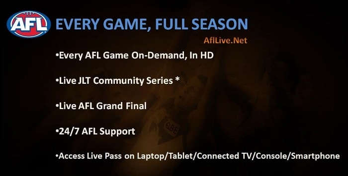 AFL Live Pass On Demand