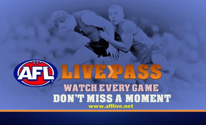 AFL Live Pass Overseas